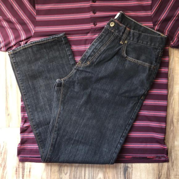 J. Crew Other - J. Crew Black Vintage Slim Straight Jeans 34/30